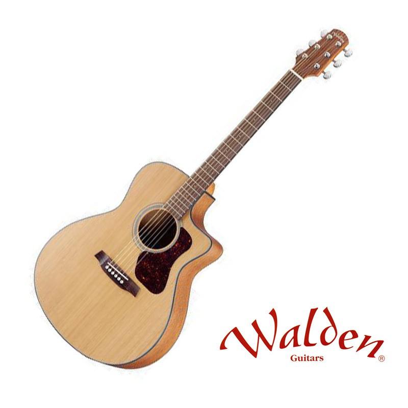 Walden G570CE/W 紅松木面單 40吋 民謠吉他 - 【他,在旅行】