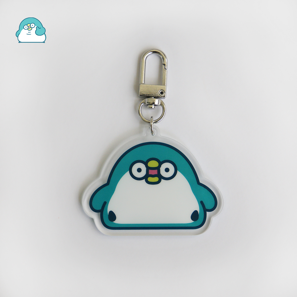 PP企鵝_壓克力鑰匙圈-經典款