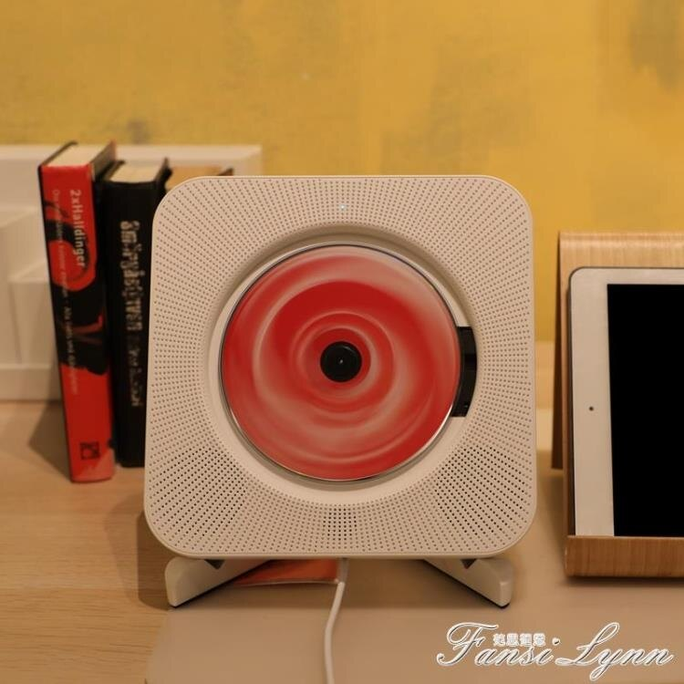 可創cd機復古播放器家用專輯便攜壁掛式cd播放機藍芽黑膠ins同款 芭蕾朵朵