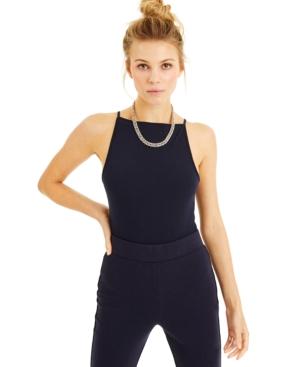 Culpos X Inc Spaghetti-Strap Bodysuit, Created for Macy's