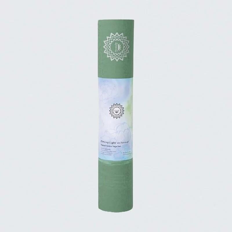 lotus專業型入定式天然橡膠瑜珈墊4.5mm 贈專屬收納背袋