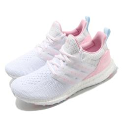 adidas 慢跑鞋 UltraBoost DNA 女鞋 愛迪達 襪套式 愛心 緩震 穿搭推薦 白 粉 GZ2802 [ACS 跨運動]