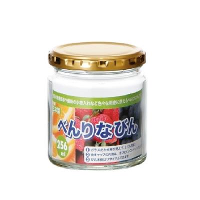 日本【東洋佐佐木玻璃】多用途收納瓶 256ml