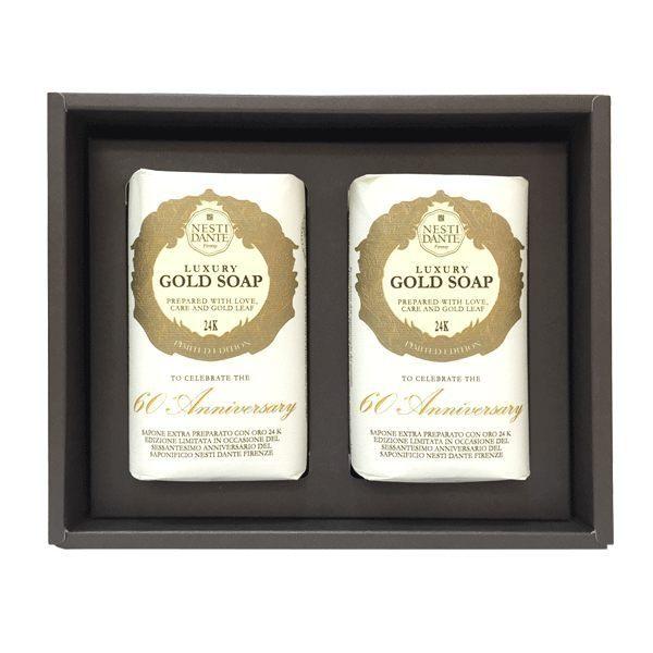 Nesti Dante 義大利手工皂 黃金能量皂禮盒 250gx2 《BEAULY倍莉》