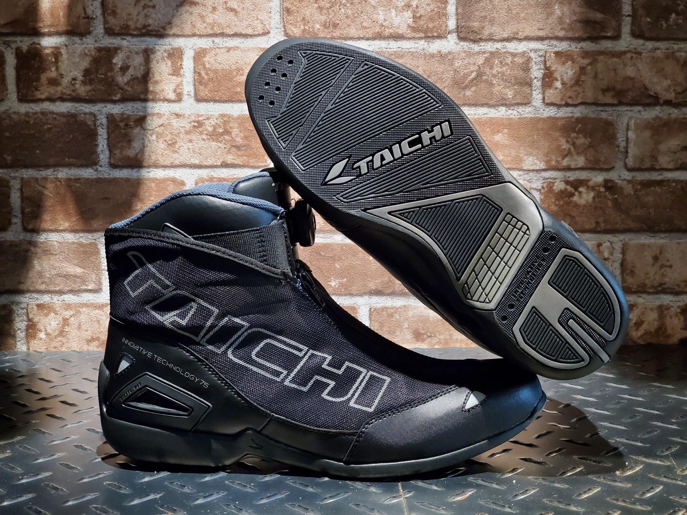 任我行騎士部品 RS TAICHI RSS008 REFLECTIVE BLACK 黑色 透氣 車靴 太極