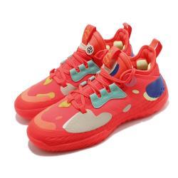 adidas 籃球鞋 Harden Vol 5 運動 男鞋 愛迪達 哈登 大鬍子 NBA球星 紅 彩 H68684 [ACS 跨運動]