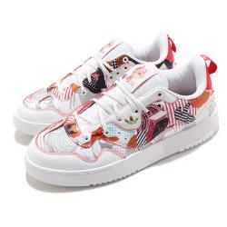 adidas 休閒鞋 Supercourt XX 復古 女鞋 愛迪達 三葉草 新年 CNY 穿搭 福 白 彩 S24185 [ACS 跨運動]