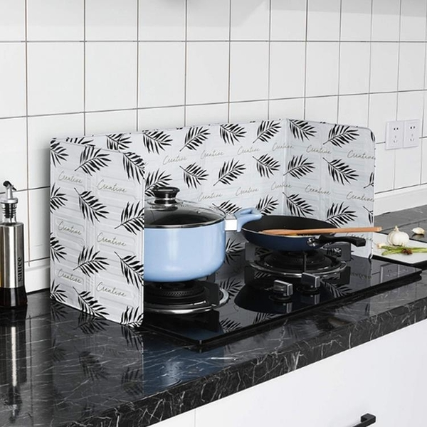 家用擋板廚房隔油鋁箔防風隔油紙擋油板灶臺小擋板檔大號防油擋板