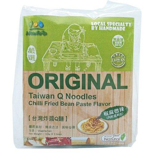 展康 台灣炸醬Q麵(椒麻微辣) (124gx3入)/包(另有3包特惠)