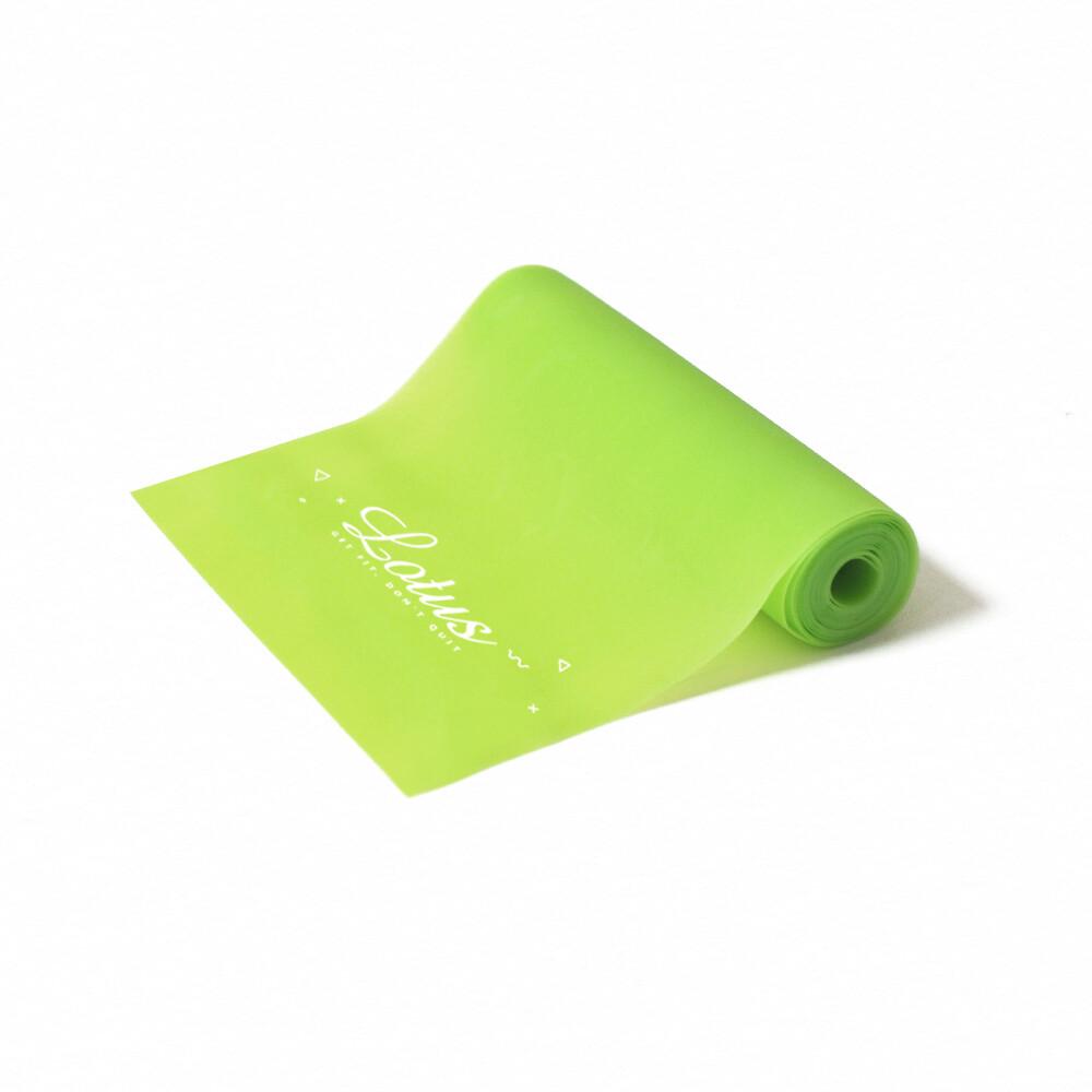 lotus台灣製親膚環保tpe瑜珈伸展彈力帶0.55mm
