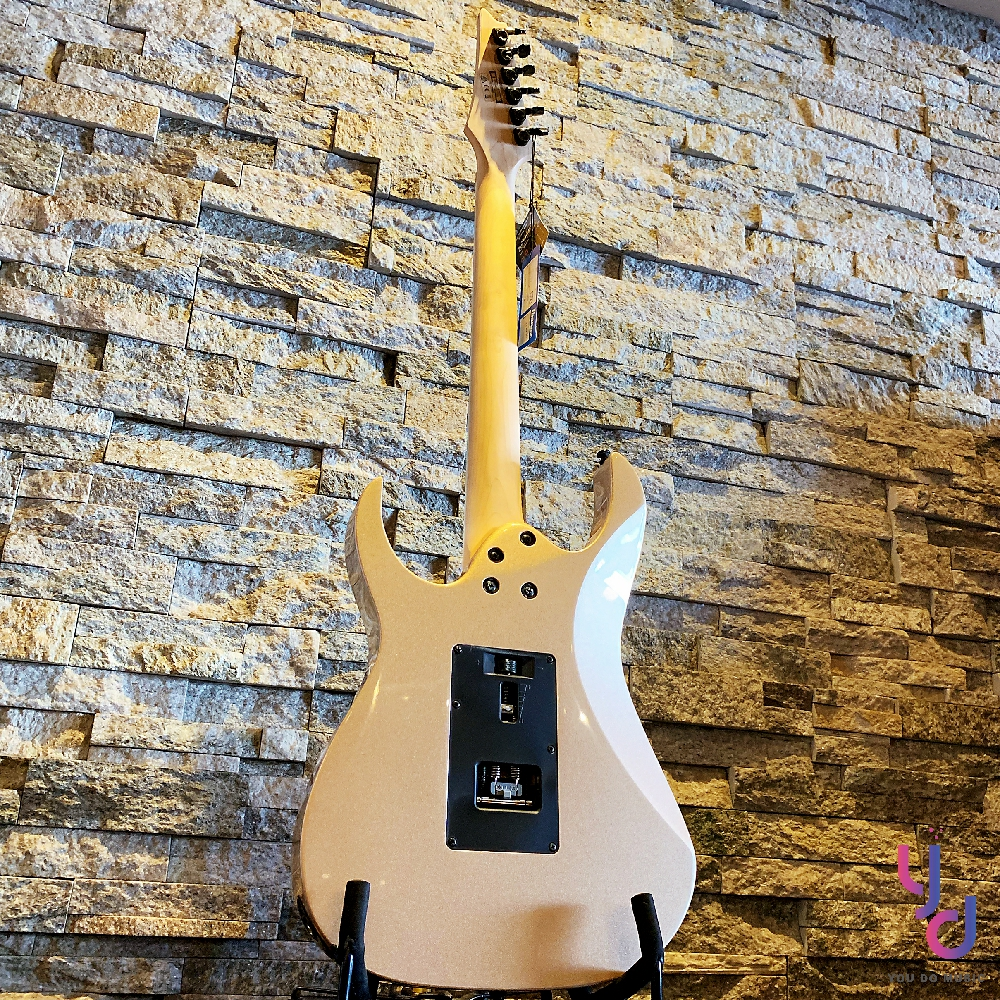 分期免運 贈千元配件 日本品牌 Ibanez RG 350 DXZ 印尼廠 香檳 金色 高階 大搖座 電 吉他