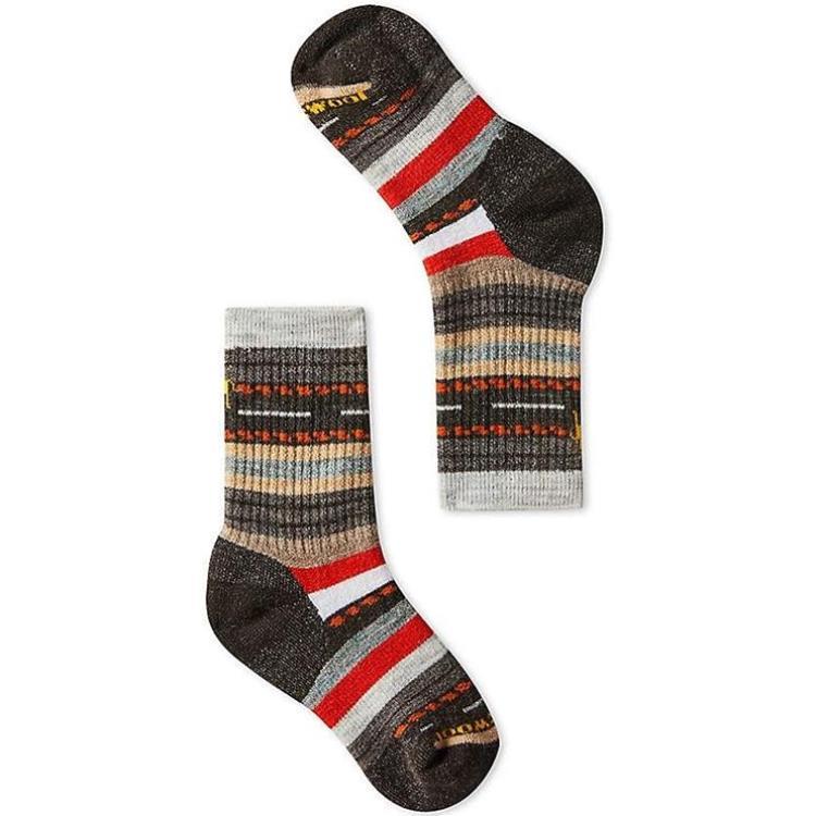 Smartwool 小朋友登山襪/保暖襪/美麗諾羊毛襪 兒童款中級避震格紋中長襪 SW001268 207栗子棕