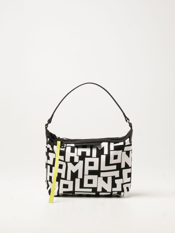 Longchamp Mini Bag Longchamp Shoulder Bag In Logoed Nylon