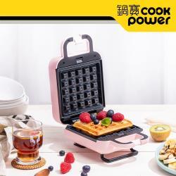 CookPower鍋寶 熱壓吐司鬆餅機 MF-1115P
