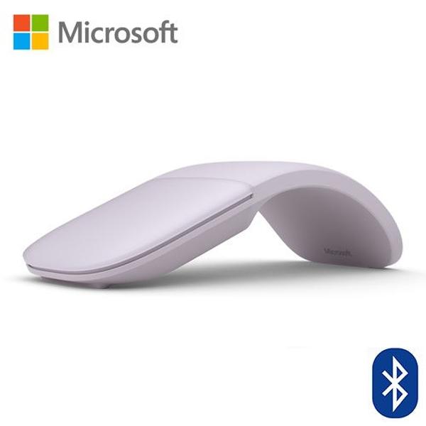 【Microsoft 微軟】Arc Mouse 滑鼠(丁香紫)