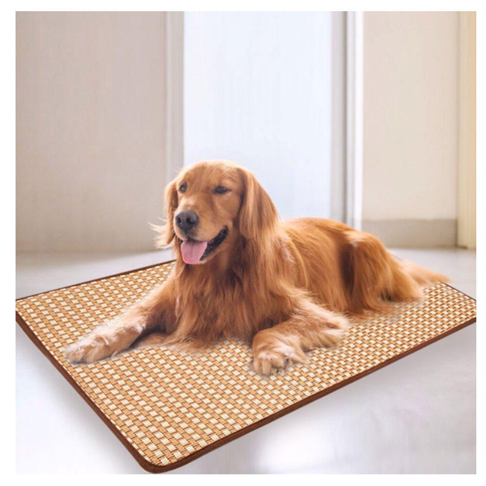 【寵物愛家】中大型犬夏季降溫專用草蓆-2XL(Z317)