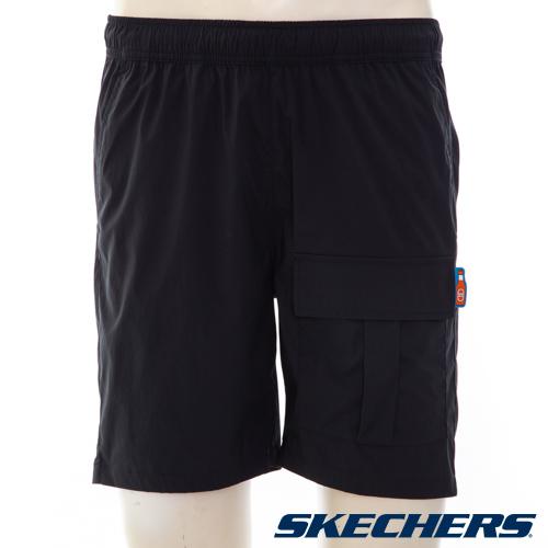 SKECHERS 男短褲 - L221M121-002K