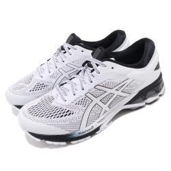 Asics 慢跑鞋 Gel-Kayano 26 男鞋 亞瑟士 路跑 高支撐 緩震 回彈 亞瑟膠 白 黑 1011A541101 [ACS 跨運動]
