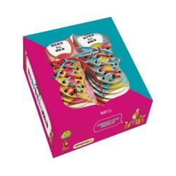 【華碩文化】凱特喬伊學習自己綁鞋帶組