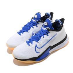 Nike 籃球鞋 Zoom BB NXT 運動 男鞋 氣墊 避震 支撐 包覆 球鞋 穿搭 白 藍 DB9991100 [ACS 跨運動]