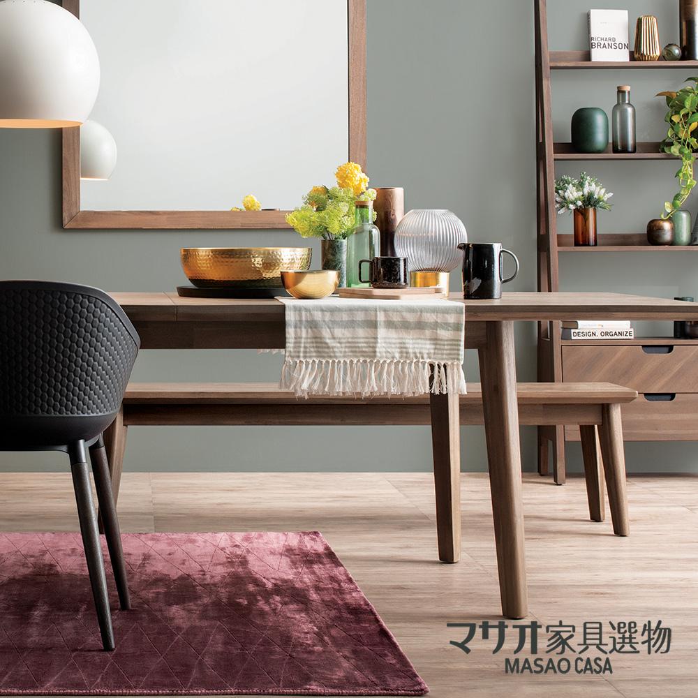 *特洛伊日式風相思木長椅凳