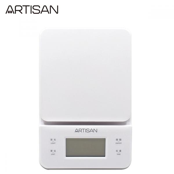 【ARTISAN】觸控式微量電子秤/3kg/霧面白 ES01W