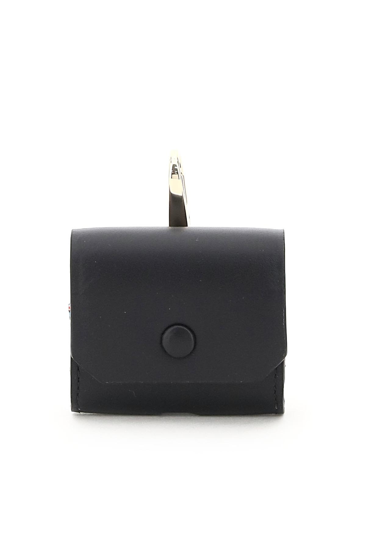 PAUL SMITH AIRPODS CASE OS Black Leather
