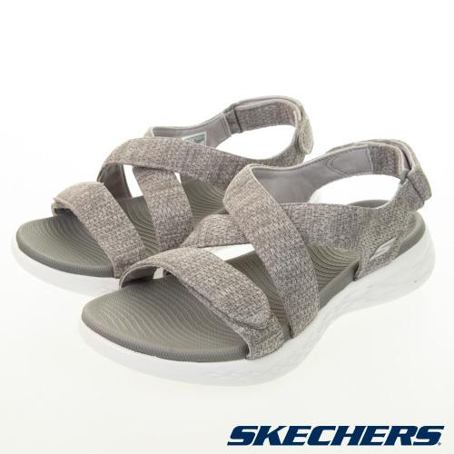 SKECHERS 女健走系列涼拖鞋 ON-THE-GO 600 - 140027GRY
