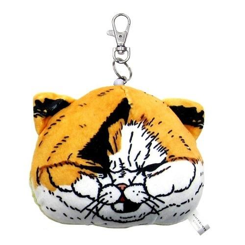 《不可思議的貓世界》票卡零錢包-淺咖啡貓