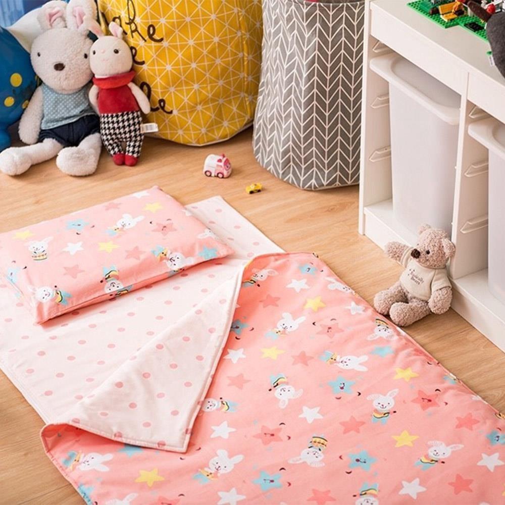 賽里絲 SERES 兒童乳膠睡袋(五件組)-搖滾小兔兔[免運費]