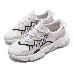 adidas 休閒鞋 Ozweego 老爹鞋 厚底 女鞋 愛迪達 三葉草 穿搭 反光 流行款 白 紫 FY3129 [ACS 跨運動]