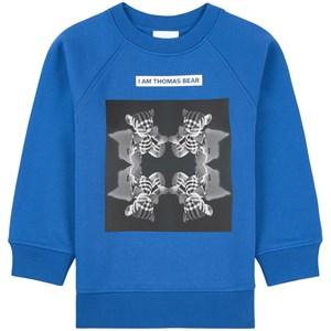Burberry Blue X-Ray Bears Sweatshirt 12 years
