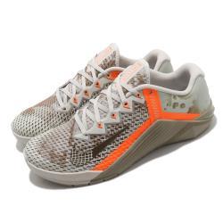 Nike 訓練鞋 Metcon 6 運動 男鞋 海外限定 支撐 穩定 健身房 重訓 卡其 橘 CK9388028 [ACS 跨運動]