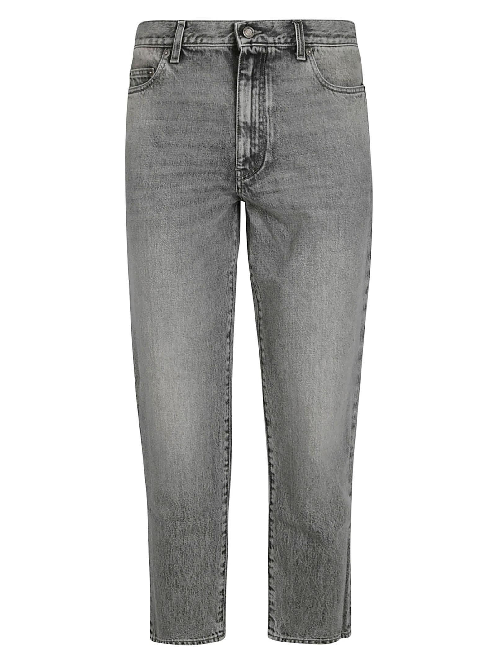 Saint Laurent Regular Stonewashed Jeans