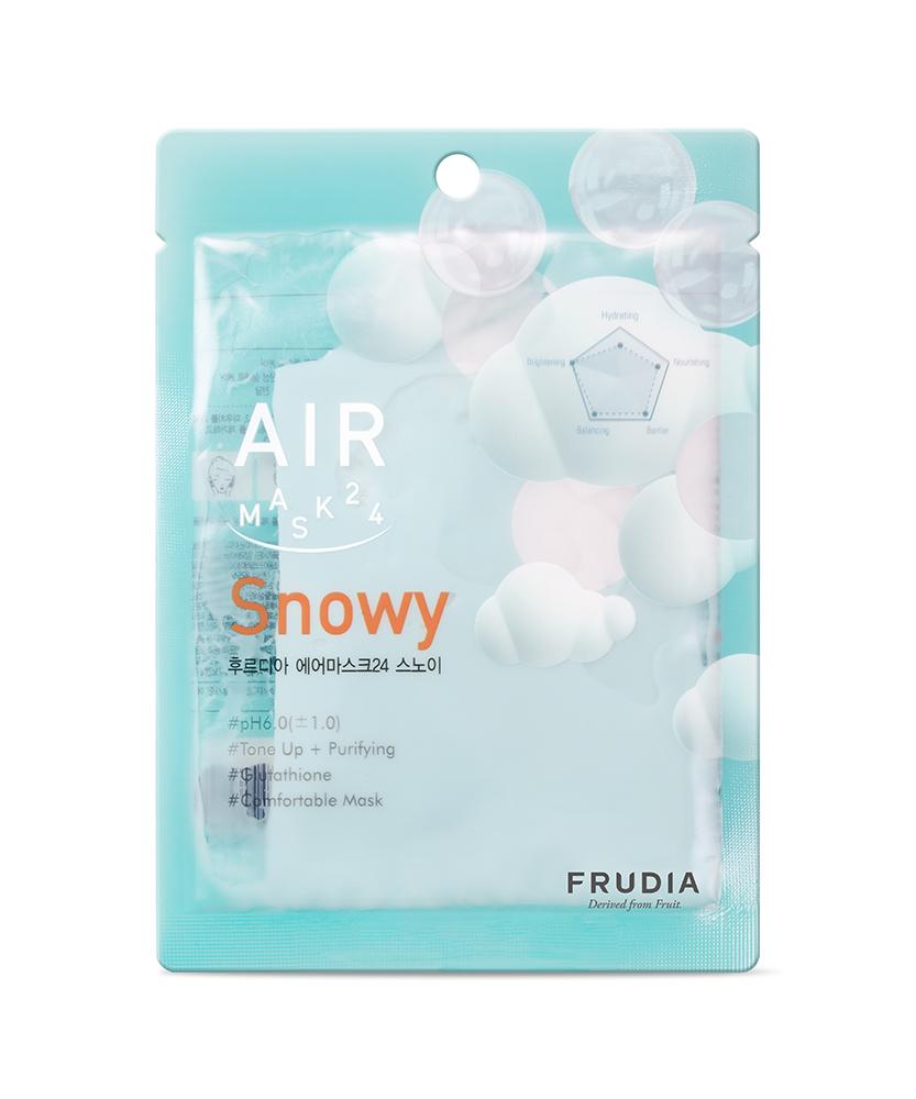 FRUDIA 肌呼完美~果萃提亮空氣面膜✨穀胱甘肽的亮白成份