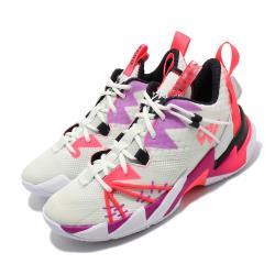 Nike 籃球鞋 Why Not Zer03 運動 男鞋 喬丹 明星款 避震 包覆 球鞋 穿搭 白 紫 CK6612101 [ACS 跨運動]