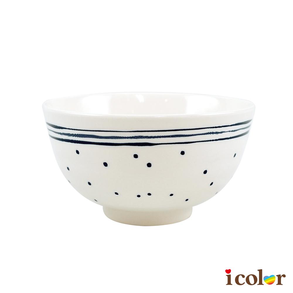 點點風格陶瓷碗(10.5cm)