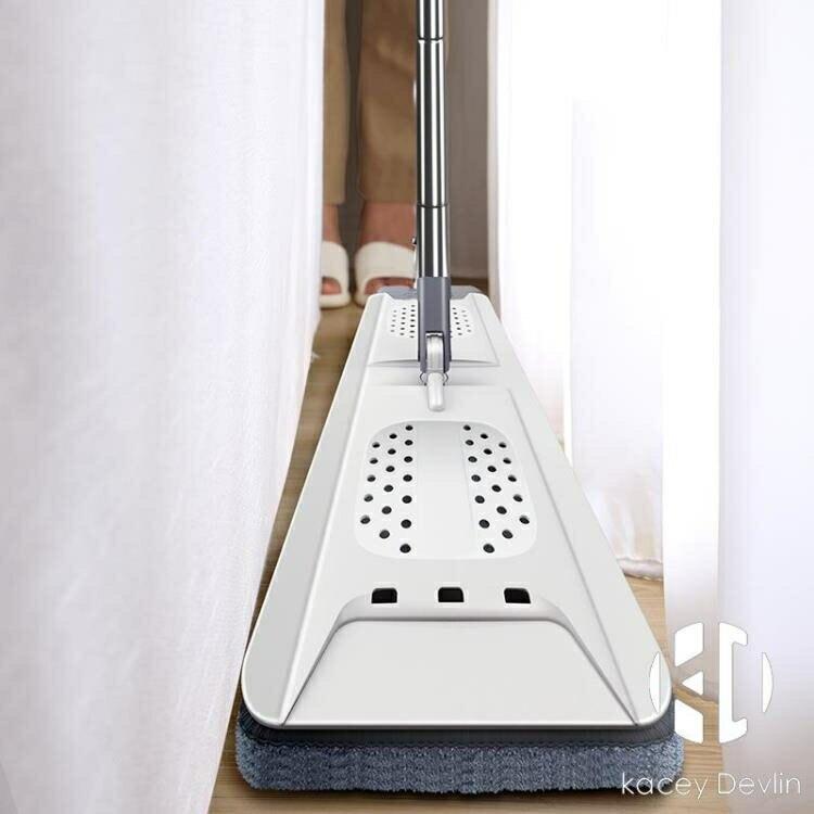 大號刮刮桶免手洗平板拖把 干濕兩用拖布 家用墩布懶人地拖【聚物優品】