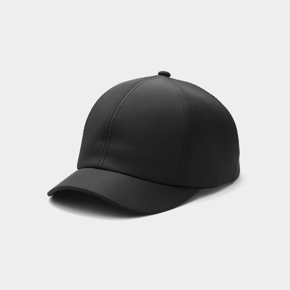 Recovery 防潑水短帽簷硬球帽 (黑)