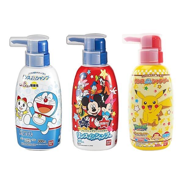 日本 BANDAI 兒童洗髮精(300ml)『STYLISH MONITOR』D045144 D045145