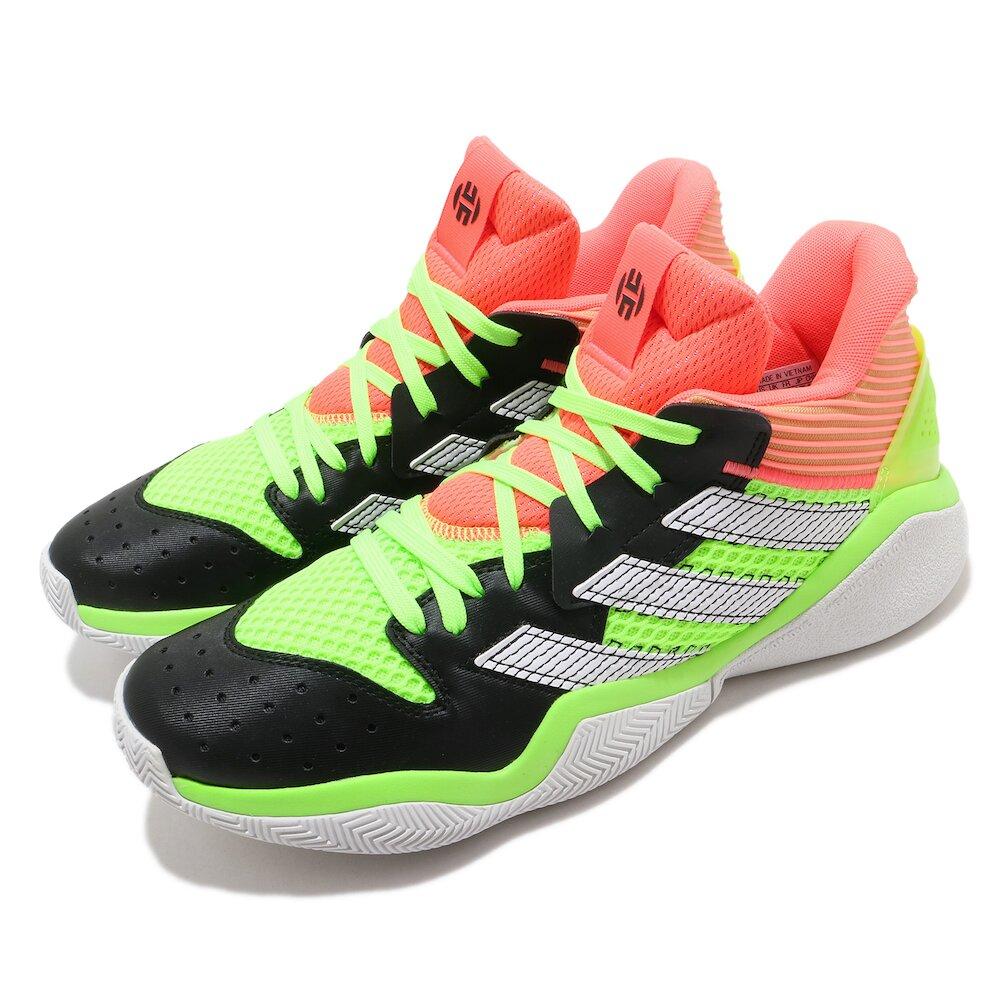 ADIDAS 籃球鞋 Harden Stepback 運動 男鞋 愛迪達 哈登 大鬍子 NBA球星 緩震 黃 橘 [EF9890]