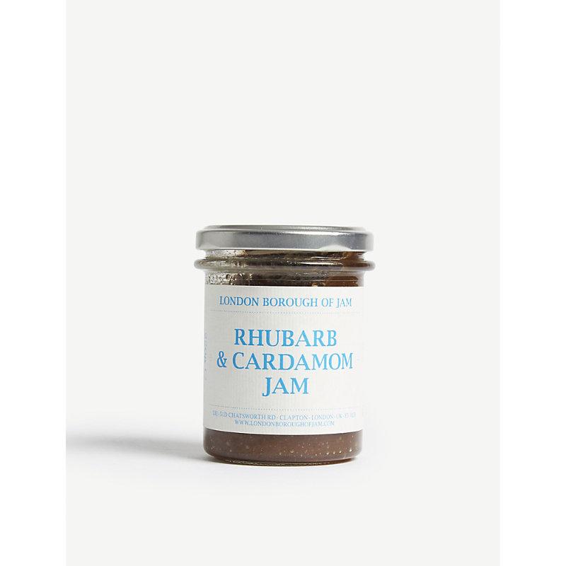 Rhubarb & cardamom jam 220g