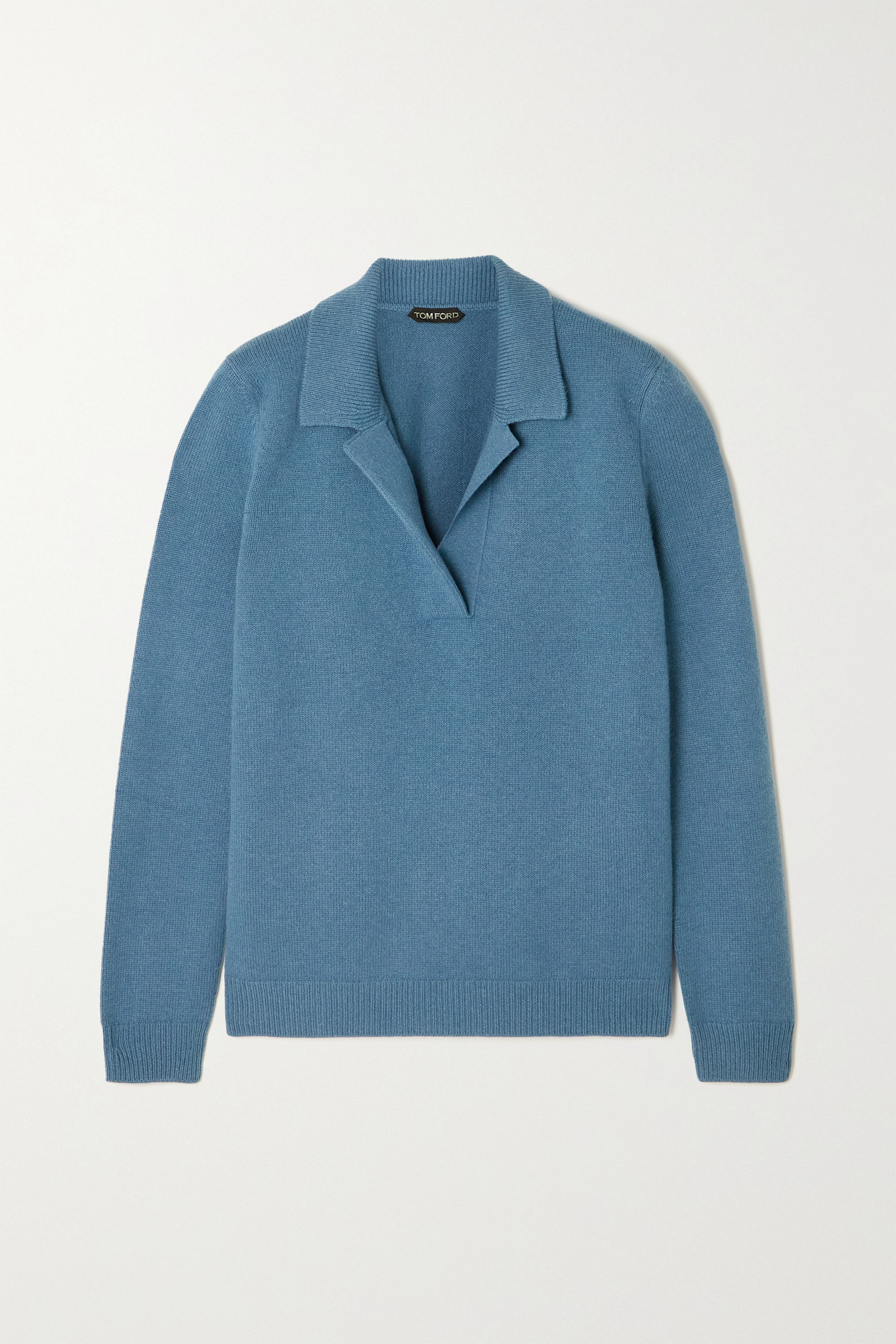 TOM FORD - Wool And Cashmere-blend Sweater - Blue - x large