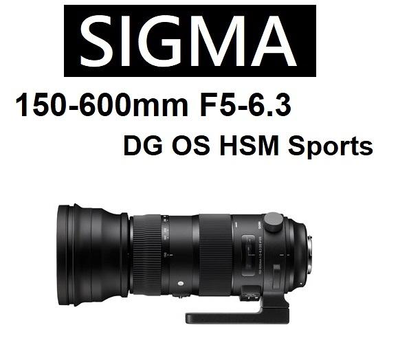 名揚數位 SIGMA 150-600mm F5-6.3 DG OS HSM SPORT 版本 恆伸公司貨保固三年~ (分12/24期0利率)