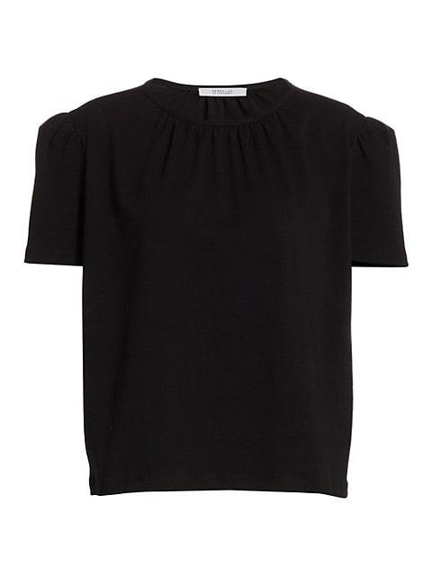 Kinzie Puff-Sleeve Knit Top