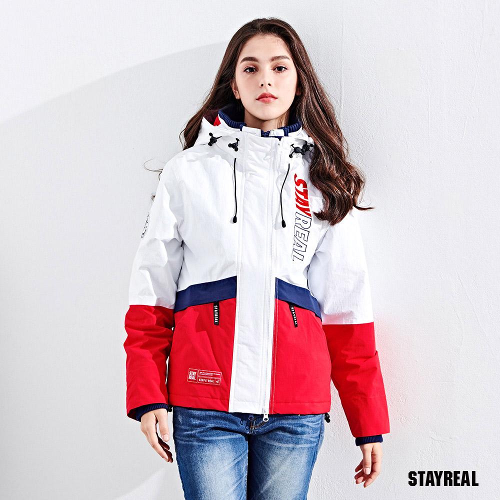 STAYREAL 青春玩色機能防風外套