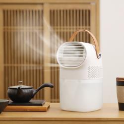 『環球嚴選』標準款 隨身USB水冷負離子風扇/小型桌上型空調扇 AB0012