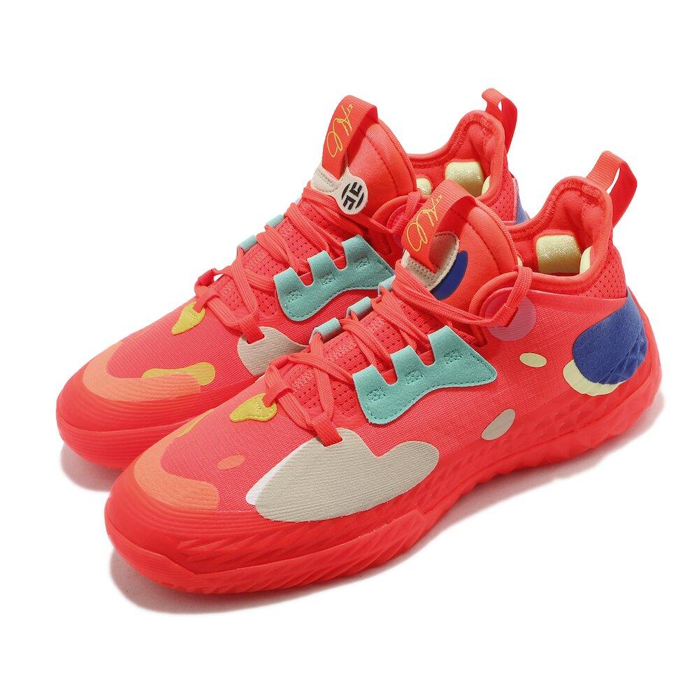 ADIDAS 籃球鞋 Harden Vol. 5 運動 男鞋 愛迪達 哈登 大鬍子 NBA球星 紅 彩 [H68684]