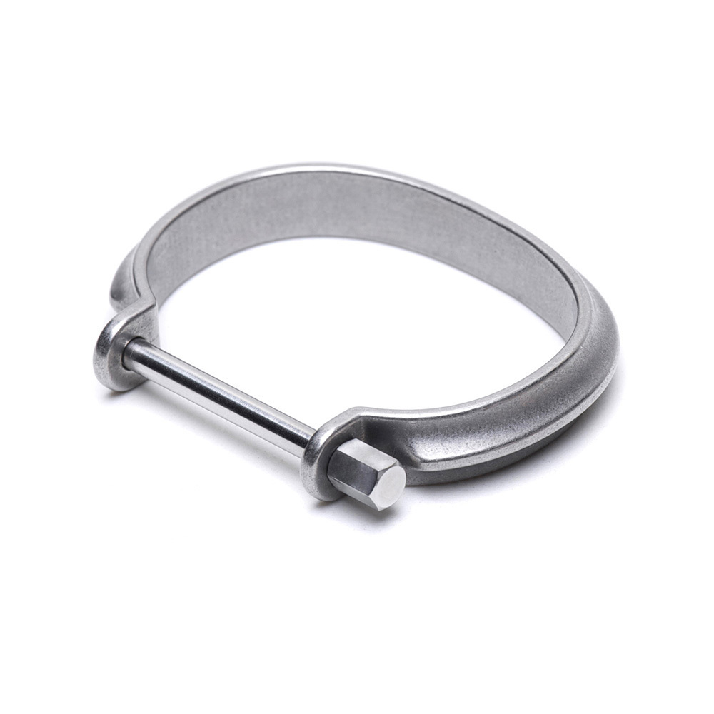 Drilling Lab Clamp series 手環 Type-A (銀色、黑色)