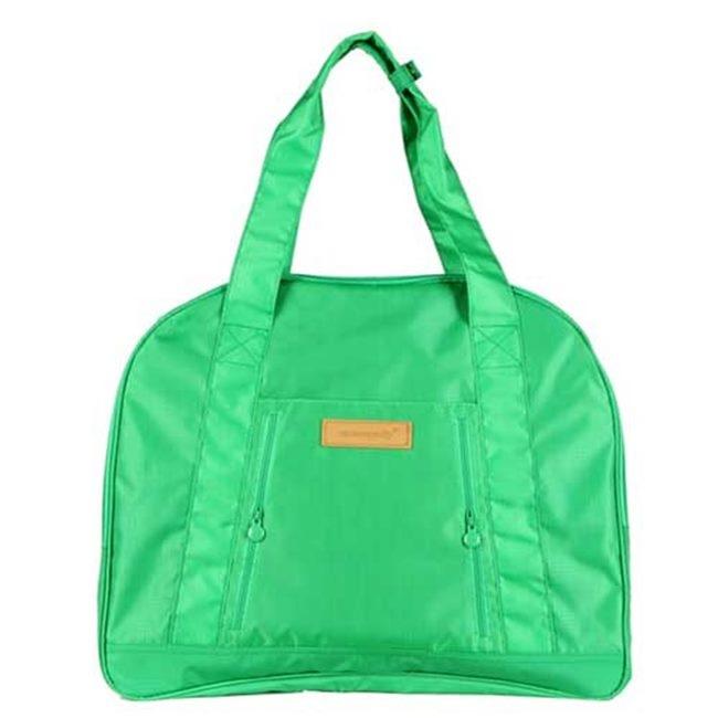 【iSPurple】大容量收納*帆布旅行袋/綠